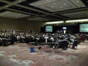 Photo of participants at London Swine Conference