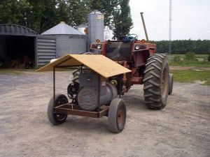 tractor with generator