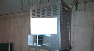 unvented gas heater