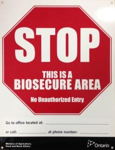 stop-biosecure-area